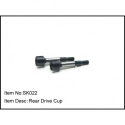 REAR  DRIVE CUP