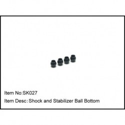 SHOCK AND STABILIZER BALL BOTTOM