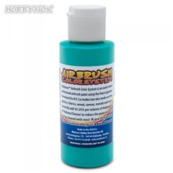 Airbrush Color Solid Aqua Blå 60ml