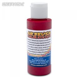 Airbrush Color Transparent Röd 60ml