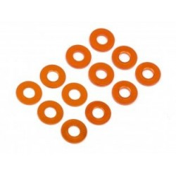 WASHER SET 3x7mm (0.5mm/1.0mm/ORANGE/6pcs)