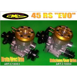 CMB 45 RS EVO GEAR DRIVE