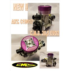 CMB 28,5 Evo 2 Mot+Carb+coupl+Ex-header