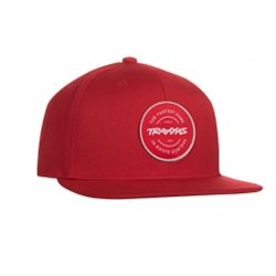 Snap Hat Red Traxxas Circle Patch