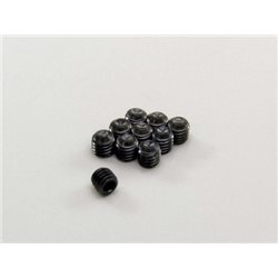 METALLIC HEADLESS SET SCREWS 3X3MM (10)