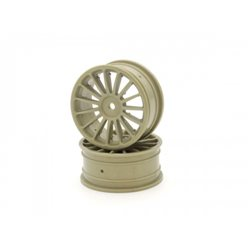 WHEEL 15-SPOKE (2) 24MM GOLD FW06