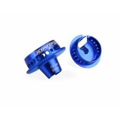 JConcepts - Fin, shock 5mm off-set spring cup - blue