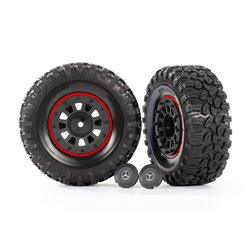 "Tires & Wheels 2.2"" Crawler (Requires #8255A)"