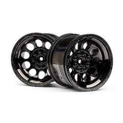 Bullet ST Wheels Black Chrome (Pr)