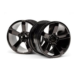 Bullet MT Wheels Black Chrome (Pr)