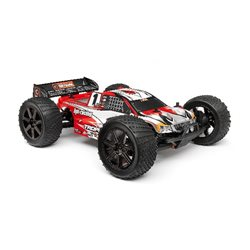 Clear Trophy Truggy Flux Bodyshell w/Window Masks and Decals