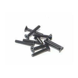 TP. FLAT HEAD SCREW M3X18MM (10PCS)