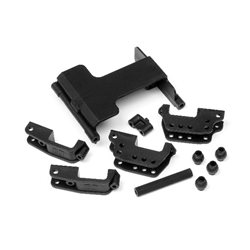 SERVO MOUNT/HIGH LINK BRACKET SET (WHEELY KING)