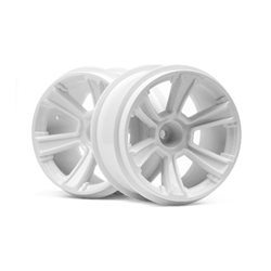 6-SHOT MT WHEEL (WHITE/2PCS)