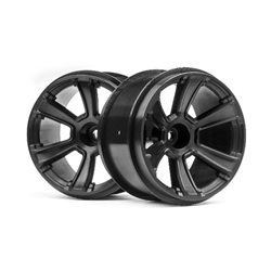 6-SHOT MT WHEEL (BLACK/2PCS)