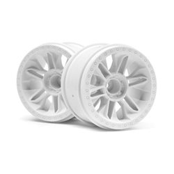 6-SHOT ST WHEEL (WHITE/2PCS)