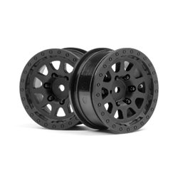 CR-10 WHEEL 1.9 (BLACK/2PCS)