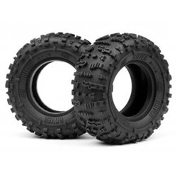 ROVER 1.9 TIRE (RED/ROCK CRAWLER/2PCS)