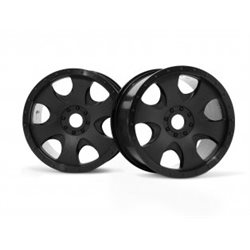 WARLOCK WHEEL BLACK/SAVAGE X 83X56MM/2PCS