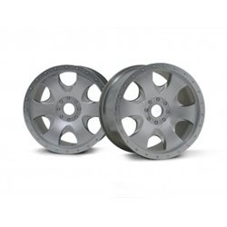 WARLOCK WHEEL MATT CHROME SAVAGE X/83X56MM/2PCS