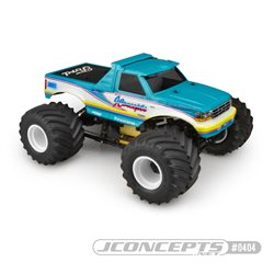 "1993 Ford F-250 monster truck body w/racerback and sun visor - (7"" width & 12.5"" wheelbase)"