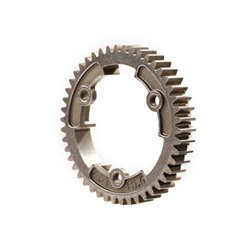 Spur Gear 46-Tooth Steel Wide 1.0 Metric Pitch