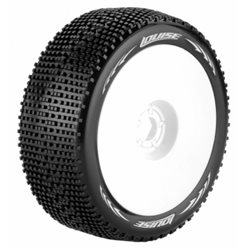 Tire & Wheel B-GROOVE 1/8 Buggy Soft White (2)