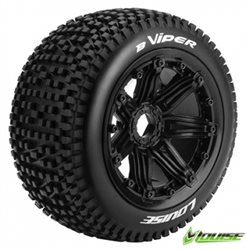 Däck & Fälg B-VIPER LS Buggy Rear (24mm Hex) (2)