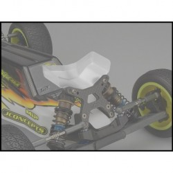 JConcepts - Aero B6 | B6D | B6.1 front wing, Fits flat front arm - narrow, 2pc