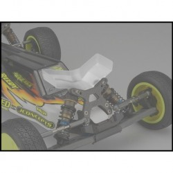 JConcepts - Aero B6 | B6D | B6.1 front wing, Fits flat front arm - wide, 2pc