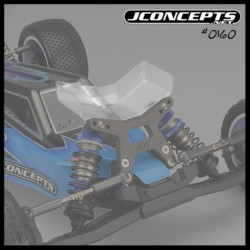 JConcepts - Aero B6 | B6D | B6.1 front wing, Fits gullwing front arm - narrow, 2pc