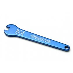 Flat Wrench 5mm Alu Blue