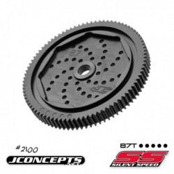 JConcepts - 48 pitch, 87T, Silent Speed Machined Huvuddrev