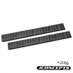 JConcepts - 5 and 10gm stick-on weight set (JC carbon appearance) -16pc.