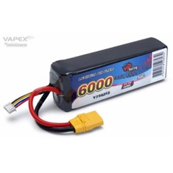 Li-Po Battery 3S 11,1V 6000mAh 50C XT90-Connector