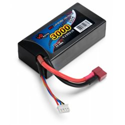 Li-Po Battery 3S 11,1V 3000mAh 35C Hard T-connector