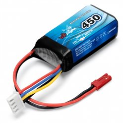 Li-Po Battery 3S 11,1V  450mAh 20C BEC-Connector