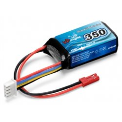 Li-Po Battery 3S 11,1V  350mAh 20C BEC-Connector