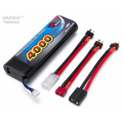 Li-Po Battery 2S 7,4V 4000mAh 40C Multi-connector