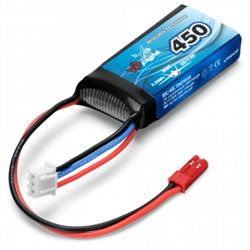 Li-Po Battery 2S 7,4V  450mAh 20C BEC-Connector