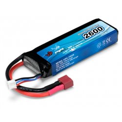 Li-Po Battery 2S 7,4V 2600mAh 30C T-Connector