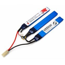 Li-Fe Battery 3S 9,9V 1000mAh 20C Split Airsoft