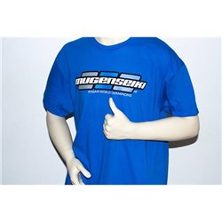 "Mugen Seiki Logo ""3dot"" T-Shirt Royal blue (2XL)"