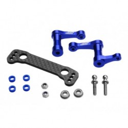 JConcepts - B44.2 alu steering bellcrank assembly-blue