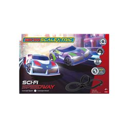 Micro Scalextric Sci-Fi Speedway