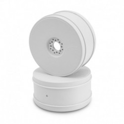 Bullet - 1/8th buggy wheel - 83mm - 4pc - (white)