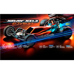 XRAY XB2C'21 - Carpet Edition 2WD El-buggy 1/10