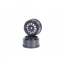 Rulux-SC10 front wheel white