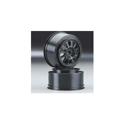Rulux- Slash front wheel black