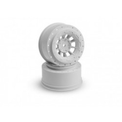 Hazard - Slash rear, Slash 4x4 F&R wheel - (white) - 2pc.